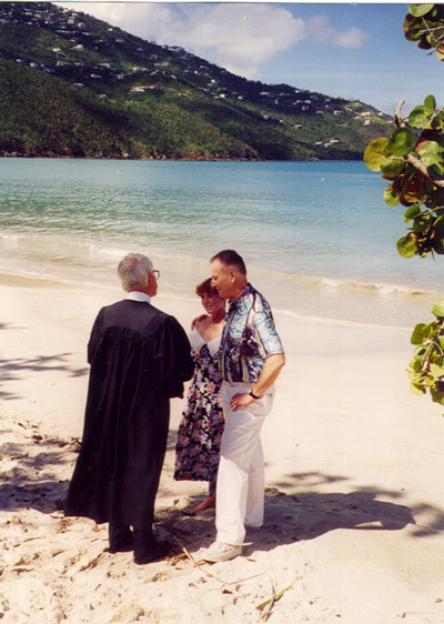 Renew Wedding Vows on Renewal Of Wedding Vows On The Beach In St  Thomas   Thriftyfun