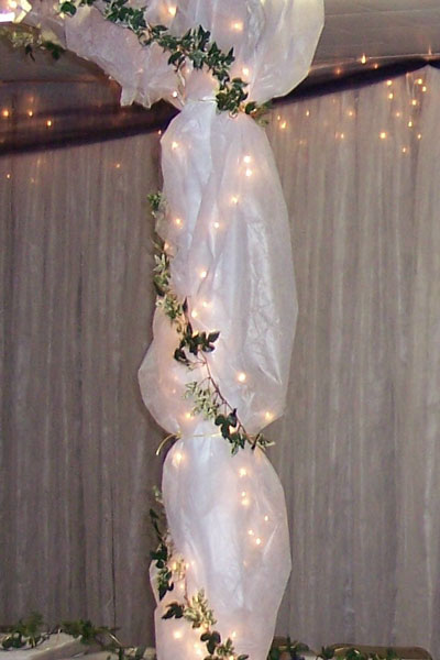 Wedding Decoration on Wedding Decoration With Tulle