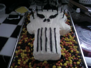 Happy Birthday Josh PunisherCake300x225