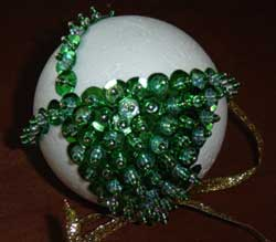 Bead and Sequin Ornaments