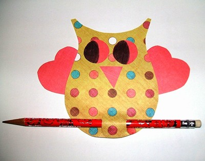 Craft Project: Easy Owl Valentine