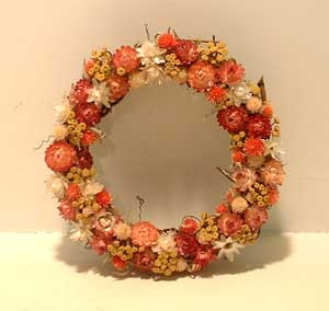 Dried Flower Wreath | ThriftyFun