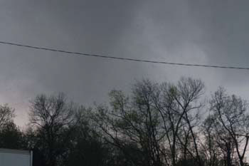 Funnel Cloud - Gallatin TN April 7, 2006