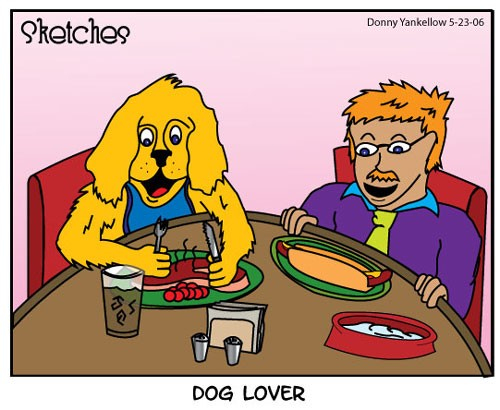 Dog Lover Comic