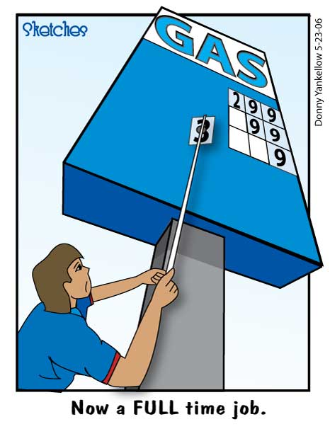 Gas Prices Comic